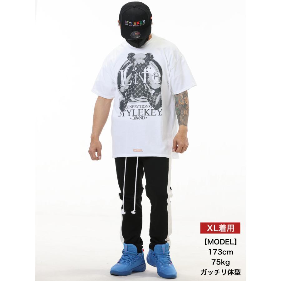 STYLEKEY CLASSIC LABEL スタイルキー クラシック・レーベル 半袖Tシャツ G-BEAR S/S TEE(SK99CL-SS11) ストリート系 レゲエ B系 バンド 熊 ベアー 大きいサイズ|b-bros|02