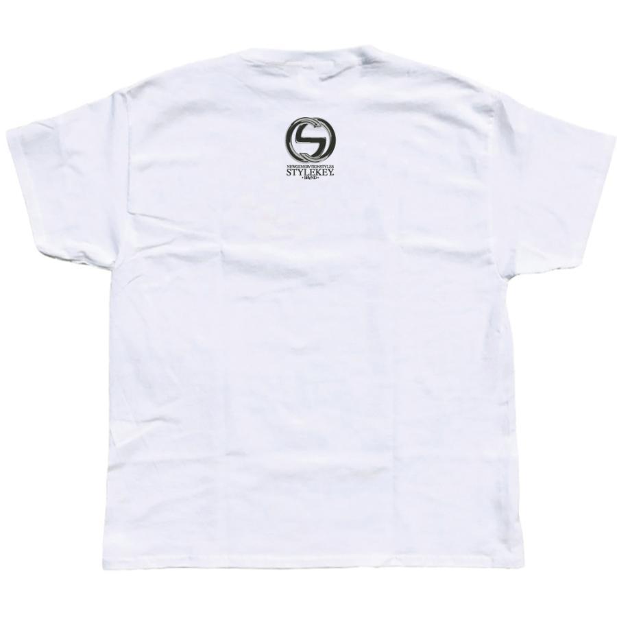 STYLEKEY CLASSIC LABEL スタイルキー クラシック・レーベル 半袖Tシャツ G-BEAR S/S TEE(SK99CL-SS11) ストリート系 レゲエ B系 バンド 熊 ベアー 大きいサイズ|b-bros|04
