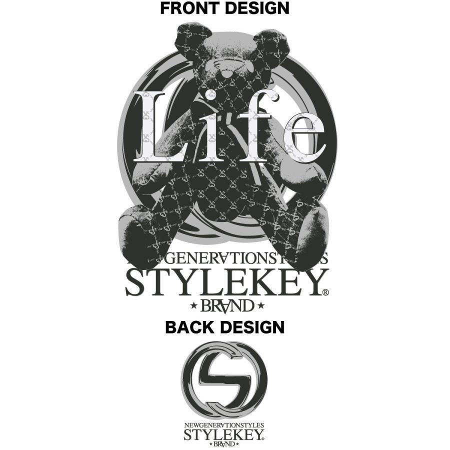 STYLEKEY CLASSIC LABEL スタイルキー クラシック・レーベル 半袖Tシャツ G-BEAR S/S TEE(SK99CL-SS11) ストリート系 レゲエ B系 バンド 熊 ベアー 大きいサイズ|b-bros|07