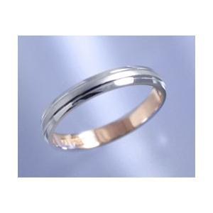 数量限定セール  AI アイ プラチナ+K18ピンクゴールド コンビ リング 結婚指輪 etoile エトワール Men's, ヒロタムラ ce3f5e67