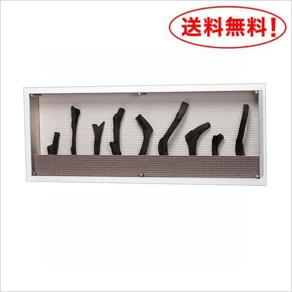 炭アート/パネル/備長炭【IN3175】W90XH35XD9.6cm