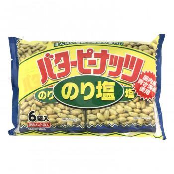 タクマ食品 バターピーナッツ のり塩味 16×4個入〔軽減税率対象商品〕