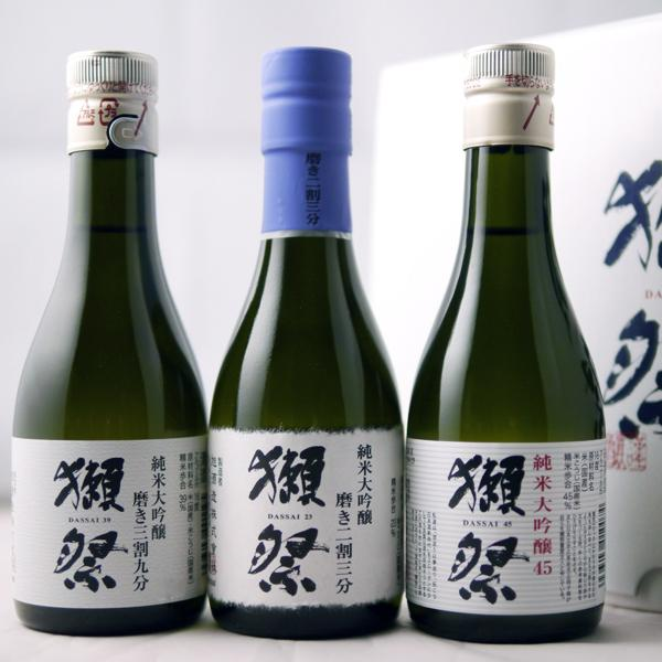 日本酒 獺祭 だっさい 飲み比べセット 180ml×3本|b-miyoshi