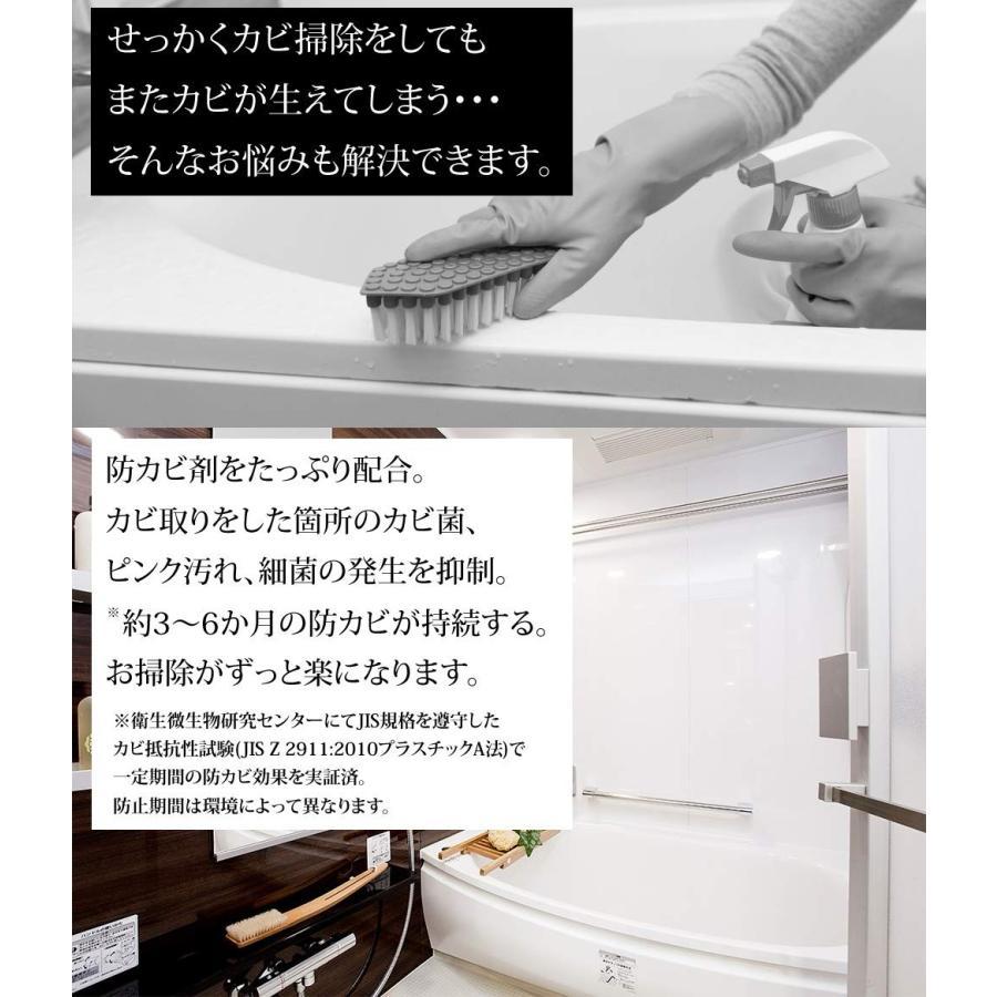 カビ取り 強力ジェルスプレー 防カビ機能付き 塩素臭軽減 お風呂の壁