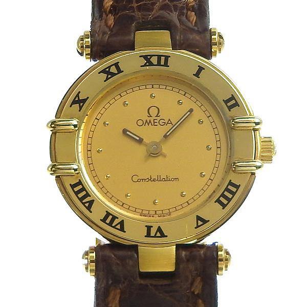 【メール便送料無料対応可】 03楽市 本物 OMEGA オメガ K18 コンステレーション レディース クォーツ 腕時計 20.4g, ペット仏壇仏具のディアペット b1ec3724