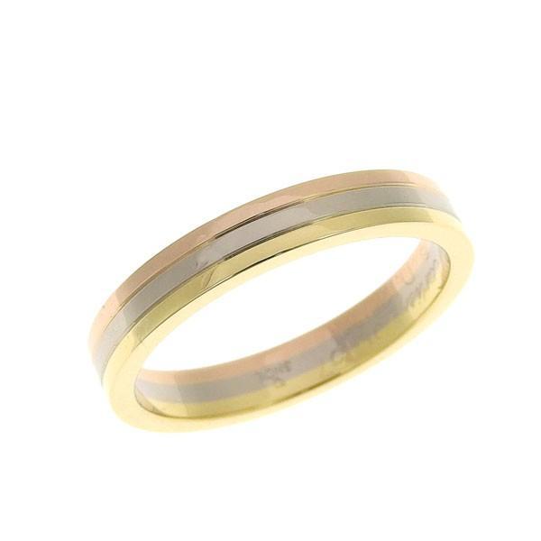 【予約受付中】 B楽市本店 リング 本物 CARTIER カルティエ カルティエ K18 スリーカラー スリーカラー リング 指輪 #57, 品質が完璧:2322b9ee --- airmodconsu.dominiotemporario.com