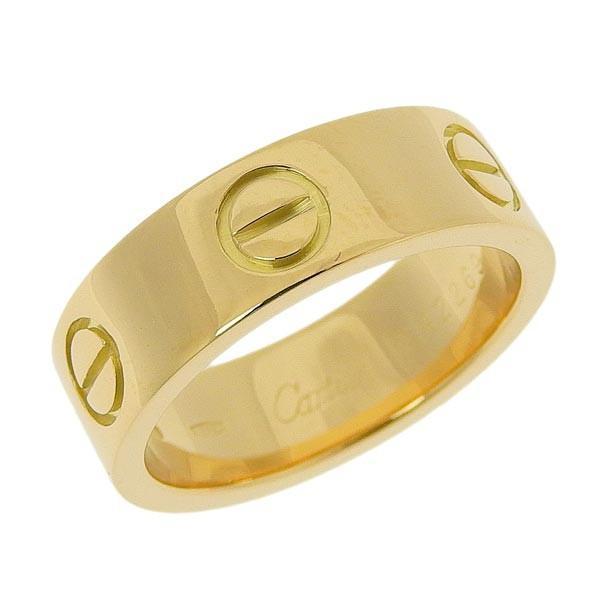 大人気 B楽市本店 本物 CARTIER カルティエ K18YG ラブリング 指輪 ラブリング #49 カルティエ 8.5号 #49 6.9g, はらだ牧場:465b71a7 --- airmodconsu.dominiotemporario.com