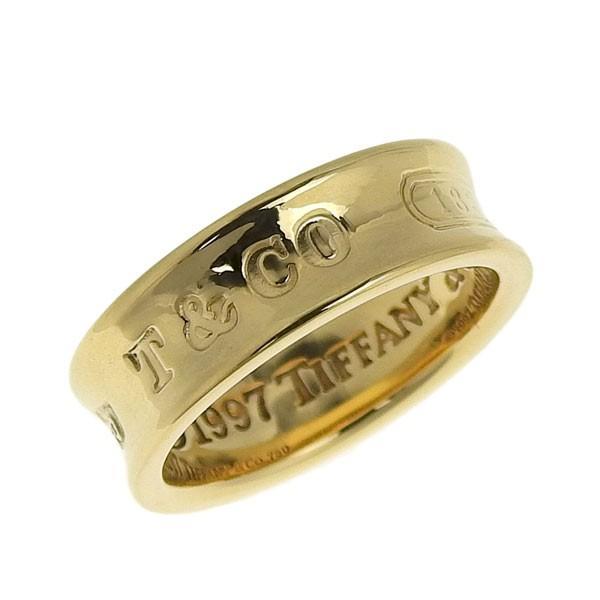 新作からSALEアイテム等お得な商品満載 B楽市本店 リング 本物 9号 K18YG Tiffany & Co. ティファニー K18YG 1837 リング 指輪 9号 6.2g, サカキマチ:b0aa3d70 --- airmodconsu.dominiotemporario.com
