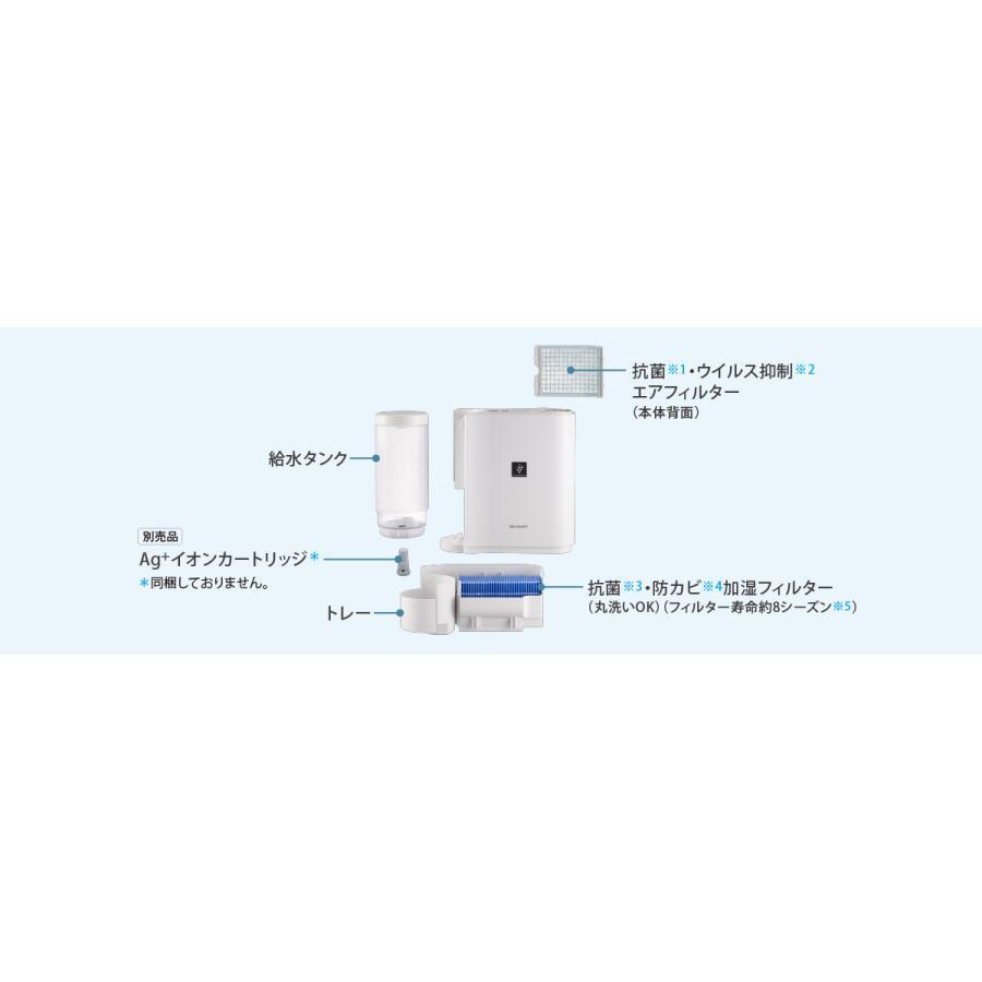 プラズマクラスター加湿機 HV-J30 (ホワイト系/アイボリーホワイト)|b-shop2000|02