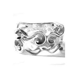 【受注生産品】 ラフラインアート シルバー シルバー リング(指輪) リング(指輪) Gaudi(ガウディジュエリー), 日中愛源:cb422cb7 --- airmodconsu.dominiotemporario.com
