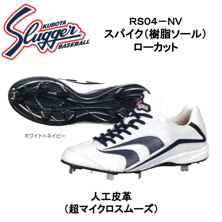 久保田スラッガー 樹脂底スパイク(ローカット) RS04-NV