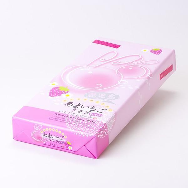 あまいちごうさぎちゃん いちご蒸しケーキ 10個入り :SAT7796:鹿児島市場 - 通販 - Yahoo!ショッピング