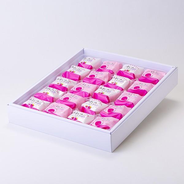 あまいちごうさぎちゃん いちご蒸しケーキ 20個入り :sat814-20:鹿児島市場 - 通販 - Yahoo!ショッピング