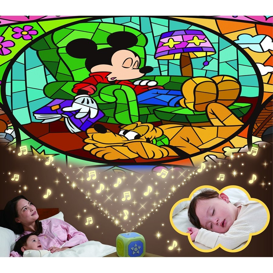 天井いっぱい!おやすみホームシアターぐっすりメロディー♪ディズニーキャラクター タカラトミー|baby-land|04