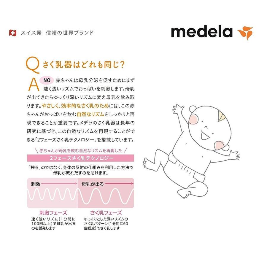 【欠品中 入荷未定】メデラ スイング電動さく乳器 カーム付 / 搾乳器 搾乳機 産後 授乳 搾乳 母乳育児 携帯 baby-land 06
