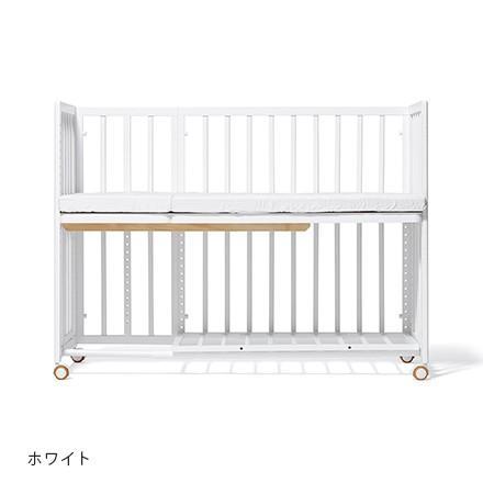 大和屋 yamatoya そいねーる+ロング マット付き添い寝ベビーベッド【130×49.5cm】 マット付き添い寝ベビーベッド【130×49.5cm】 ホワイトWH / 添い寝ーる キャッシュレス