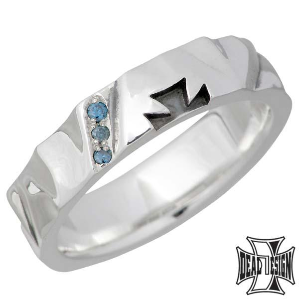 安い DEAL LTD ディールエルティーディー シルバー リング 指輪 メンズ レディース ダイヤモンド DEAL DESIGN ディールデザイン, 藤井寺市 f93583c4
