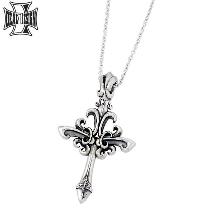 低価格の DEAL DESIGN ディールデザイン シルバー ネックレス マスカレードクロス ラージ メンズ 十字架, タジママチ f590dbf2