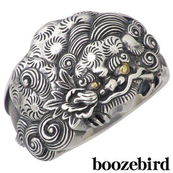 低価格で大人気の boozebird K24 シルバー ブーズバード 唐獅子牡丹 リング シルバー リング 指輪 K24, バッグショップグルーピー:50eb636c --- airmodconsu.dominiotemporario.com