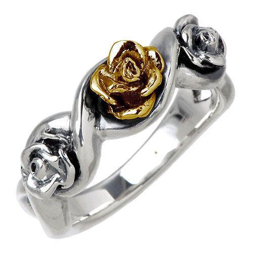 満点の GIGOR ジゴロウ 薔薇 シルバー シルバー ジゴロウ リング 薔薇 指輪, お気に入り:23c135ff --- airmodconsu.dominiotemporario.com