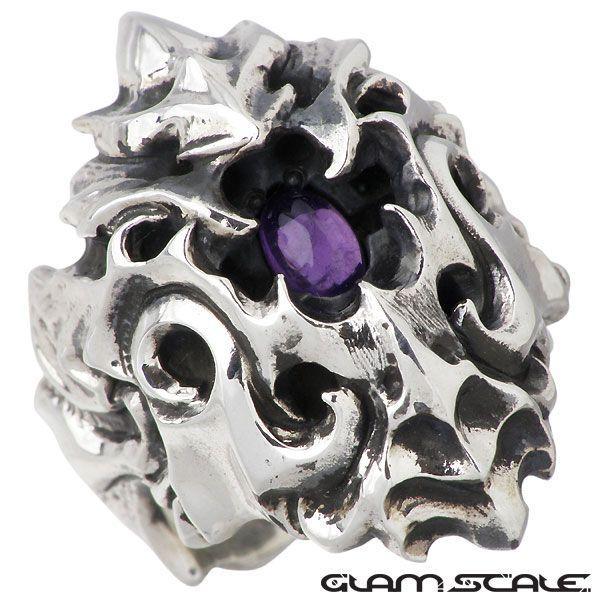 【史上最も激安】 GLAM SCALE グラムスケイル シルバー シルバー リング リング GLAM アメジスト 指輪, TTClub:c54aa125 --- airmodconsu.dominiotemporario.com