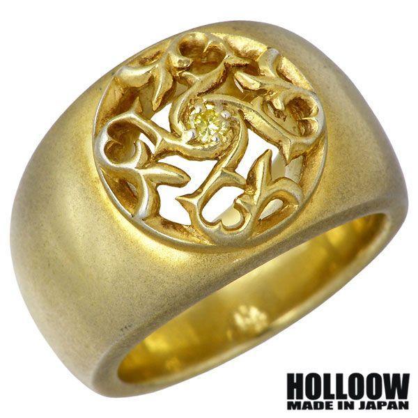 【再入荷!】 HOLLOOW ホロウ Q.A.R ホロウ Q.A.R ラウンドトライバルリリー HOLLOOW シルバー リング 指輪, G-FACTORY:5e3b8953 --- airmodconsu.dominiotemporario.com