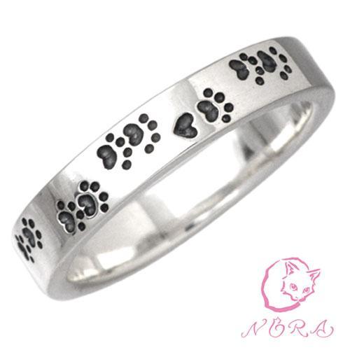 ノラ NORA シルバー リング 指輪 レディース NORAの軌跡 猫 ネコ ねこ|baby-sies