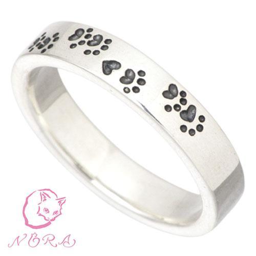 ノラ NORA シルバー リング 指輪 レディース NORAの軌跡 猫 ネコ ねこ|baby-sies|02