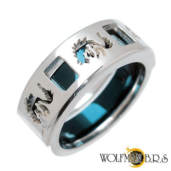 ウルフマンB.R.S WOLFMAN B.R.S ホワイトファングウルフ シルバー リング 指輪 baby-sies