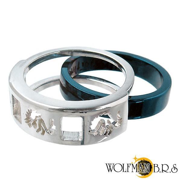 ウルフマンB.R.S WOLFMAN B.R.S ホワイトファングウルフ シルバー リング 指輪 baby-sies 03