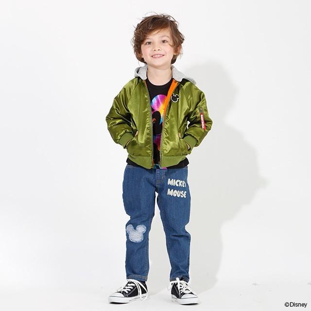 ベビードール BABYDOLL 子供服 ディズニー ジャケット MA-1 親子お揃い 4468K キッズ 男の子 女の子 DISNEY|babydoll-y|12
