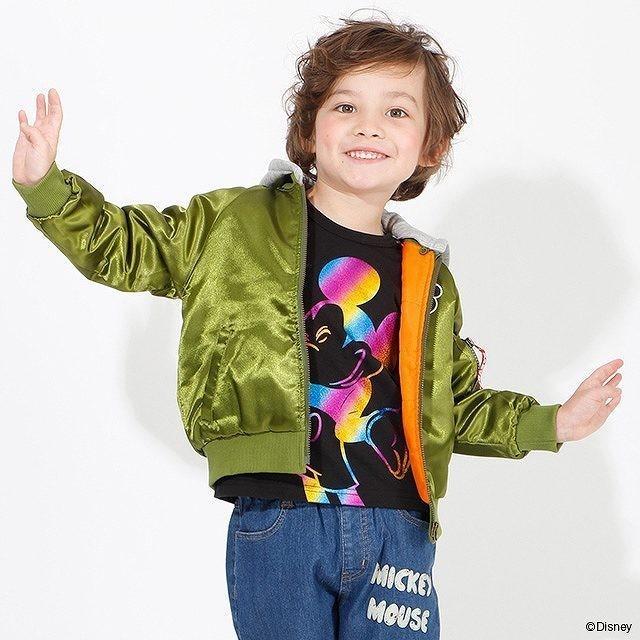 ベビードール BABYDOLL 子供服 ディズニー ジャケット MA-1 親子お揃い 4468K キッズ 男の子 女の子 DISNEY|babydoll-y|13