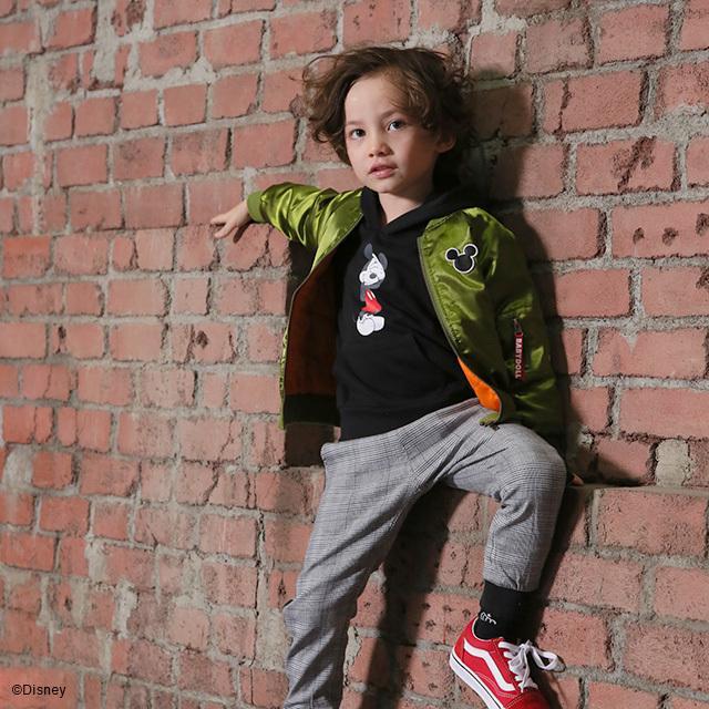 ベビードール BABYDOLL 子供服 ディズニー ジャケット MA-1 親子お揃い 4468K キッズ 男の子 女の子 DISNEY|babydoll-y|14