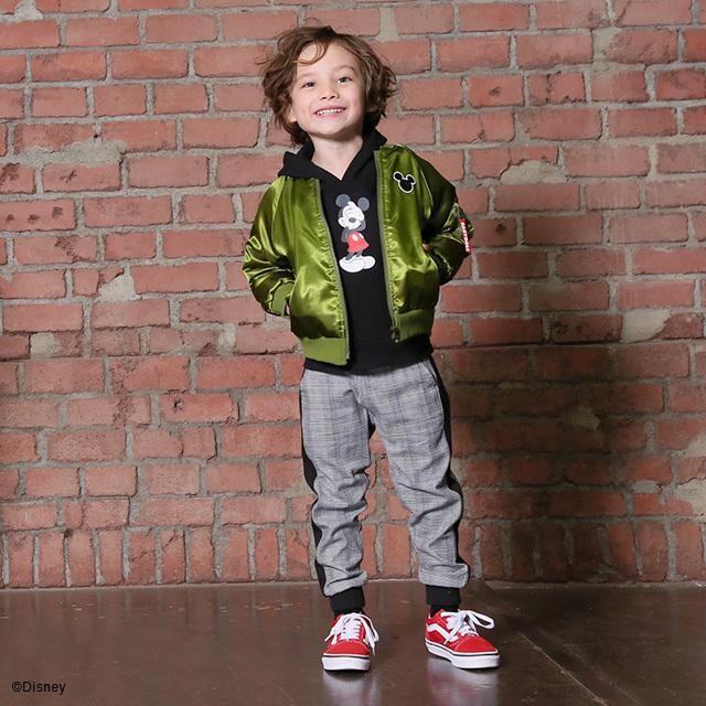 ベビードール BABYDOLL 子供服 ディズニー ジャケット MA-1 親子お揃い 4468K キッズ 男の子 女の子 DISNEY|babydoll-y|15
