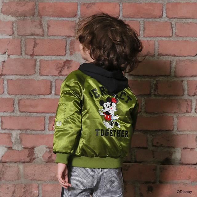 ベビードール BABYDOLL 子供服 ディズニー ジャケット MA-1 親子お揃い 4468K キッズ 男の子 女の子 DISNEY|babydoll-y|16