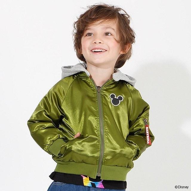 ベビードール BABYDOLL 子供服 ディズニー ジャケット MA-1 親子お揃い 4468K キッズ 男の子 女の子 DISNEY|babydoll-y|10
