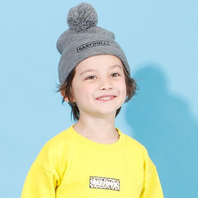 50%OFF SALE ベビードール BABYDOLL 子供服 ニットキャップ ロゴ刺繍 4507 キッズ 男の子 女の子|babydoll-y|10
