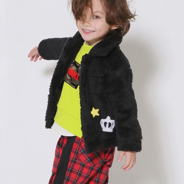 50%OFF SALE ベビードール BABYDOLL 子供服 アウター ワッペンシャツ 4542K キッズ 女の子|babydoll-y|10