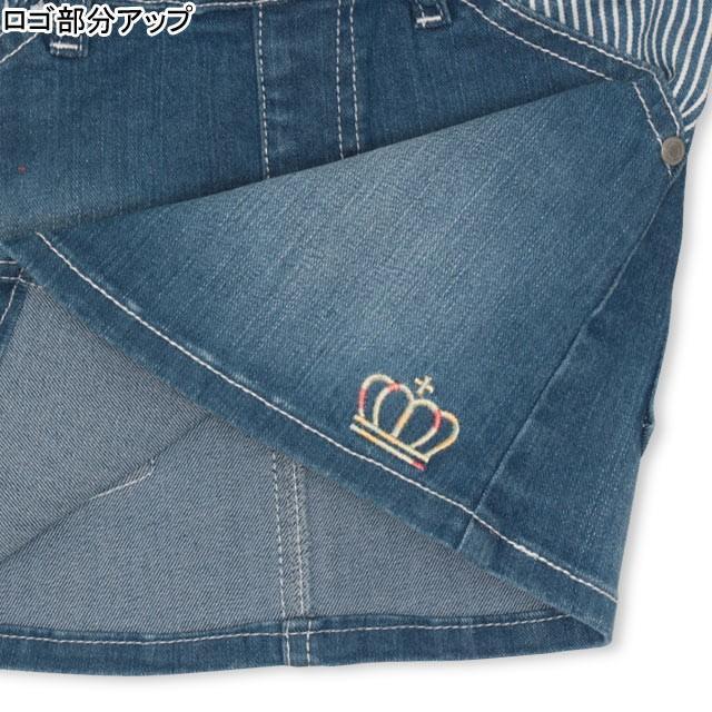 ベビードール BABYDOLL 子供服 スカート デニム 星刺繍 4624K キッズ 女の子|babydoll-y|05