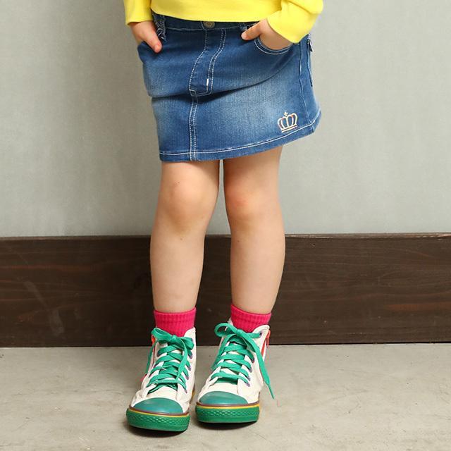 ベビードール BABYDOLL 子供服 スカート デニム 星刺繍 4624K キッズ 女の子|babydoll-y|08