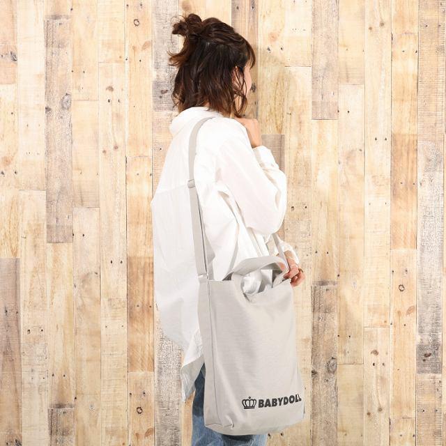 ベビードール BABYDOLL 子供服 トートバッグ A4サイズ対応♪ 2WAY キャンバス 5262 大人 レディース メンズ|babydoll-y|07