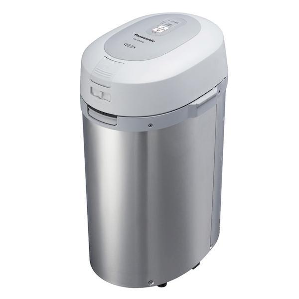 パナソニック 家庭用 生ごみ処理機 温風乾燥式 屋外 屋内 兼用 シルバー MS-N53XD-S