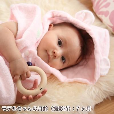 出産祝い 新生児から3歳くらいまで、ながーく使える!『ふわサラ湯上りパーカー』(ベビーバスローブ)(ベビーグース)|babygoose|07