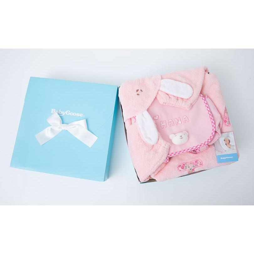 出産祝い 名入れベビー服 ギフト ジャンパー 上着 リュック Namingジャンパーとくまさんリュックのセット(BOX付き)|babygoose|03