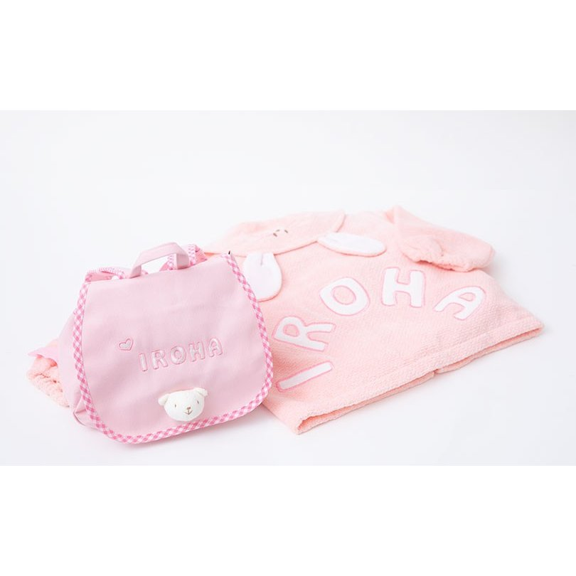 出産祝い 名入れベビー服 ギフト ジャンパー 上着 リュック Namingジャンパーとくまさんリュックのセット(BOX付き)|babygoose|04