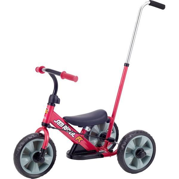 へんしんサンライダーFC 三輪車 バランスバイク へんしんバイク カジキリ機能付き押手棒|babyish|05