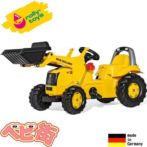 ロリートイズ NEW HOLLAND キッズローダー rolly toys 乗用玩具 乗り物 ニューホランド ローリートイズ