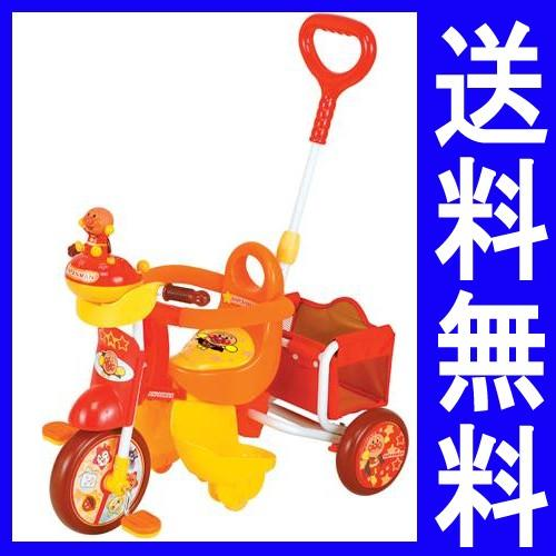 【送料無料】ブザー付きおでかけ三輪車 それいけ!アンパンマン アドバンスGOO!(M&M エムアンドエム アドバンス ゴー)