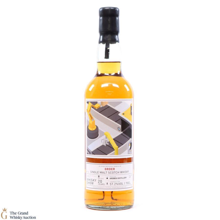 アードベック 2020年 20yo  57.2% - Whisky Show 2020 / ARDBEG 20yo 'The Ever-changing World of Order'|bacchus-barrel