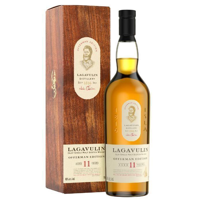 Lagavulin Offerman 11yo Limited Edition 46%-700 / ラガブーリン オファーマン 11年  bacchus-barrel